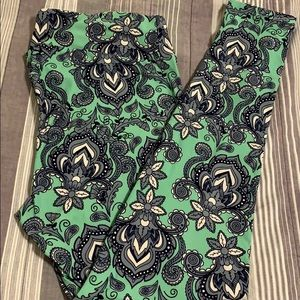 Paisley LuLaRoe TC Leggings NWOT